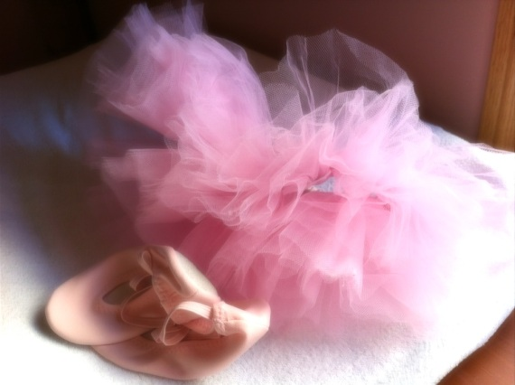 Tutu and shoes